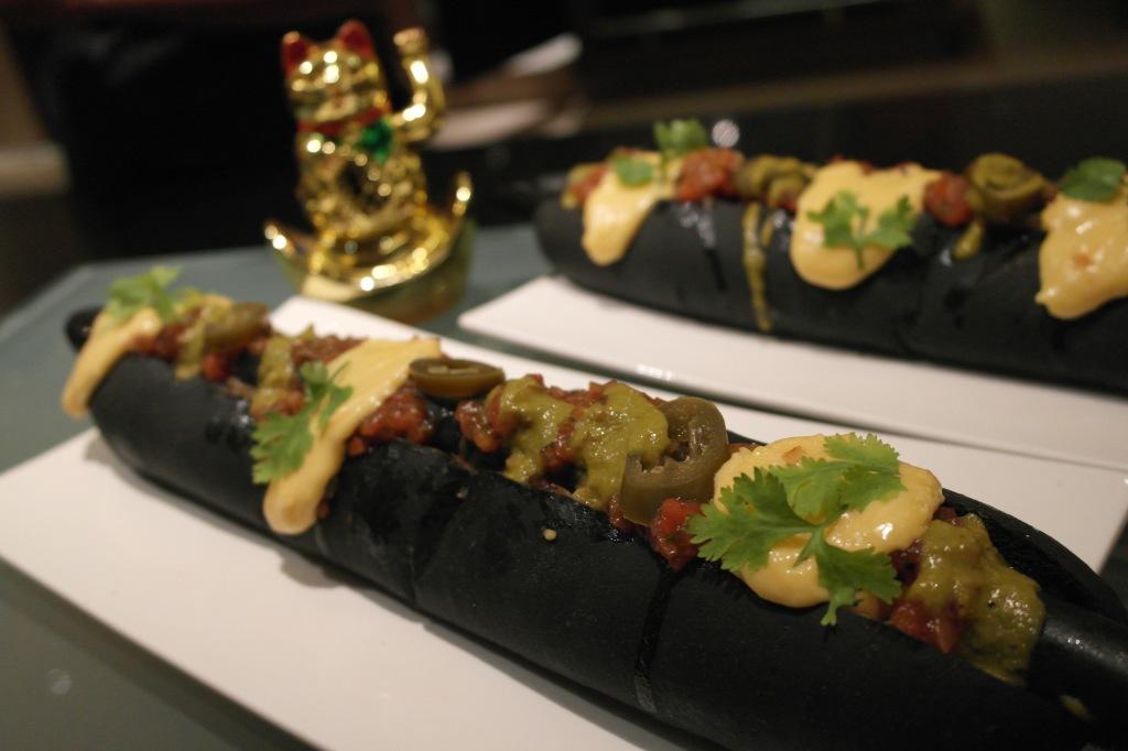 The Black Hot Dog