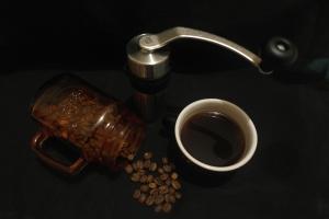 kopi hitam tanpa kamu